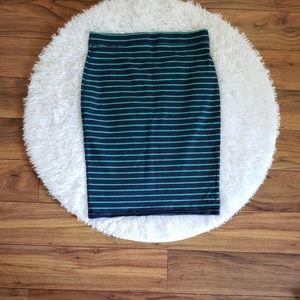 Old Navy | Striped Stretch Skirt